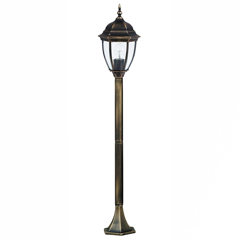 Alta qualità LED energiespar-aussenstehlampe 12 Watt in elegante oro antico piantana