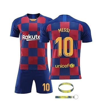 Daoseng Jersey Futbol 2019-2020 Traje de niños Manga Corta + ...