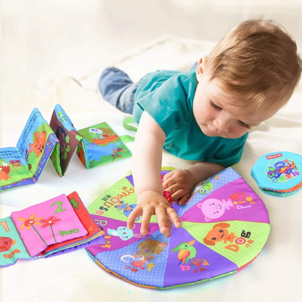 arthomer Livre dapprentissage /Éducatif pour Les D/ébuts Livre Montessori pour Apprendre /À Conna/ître des Choses Jouet /Éducatif pour B/éb/é Et Enfant