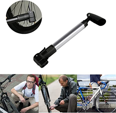 Mini Bomba de Aire de Bicicleta de Aleación de Aluminio, WEINAS ...