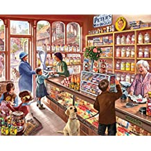 White Mountain Puzzles Old Candy Store, 1000 Piece Jigsaw Puzzle