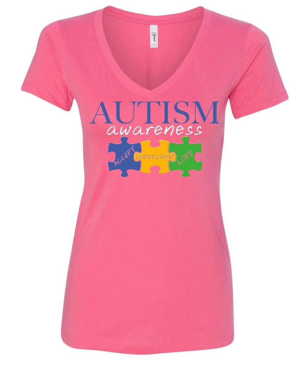 Tee Hunt Autism Awareness T Shirt Accept Understand Love Inspire Support 5627