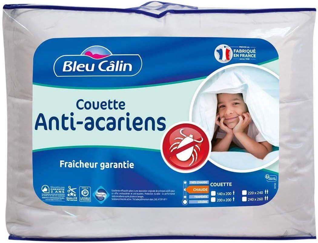 Blanr/êve Couette Anti-Acariens L/ég/ère 140 x 200