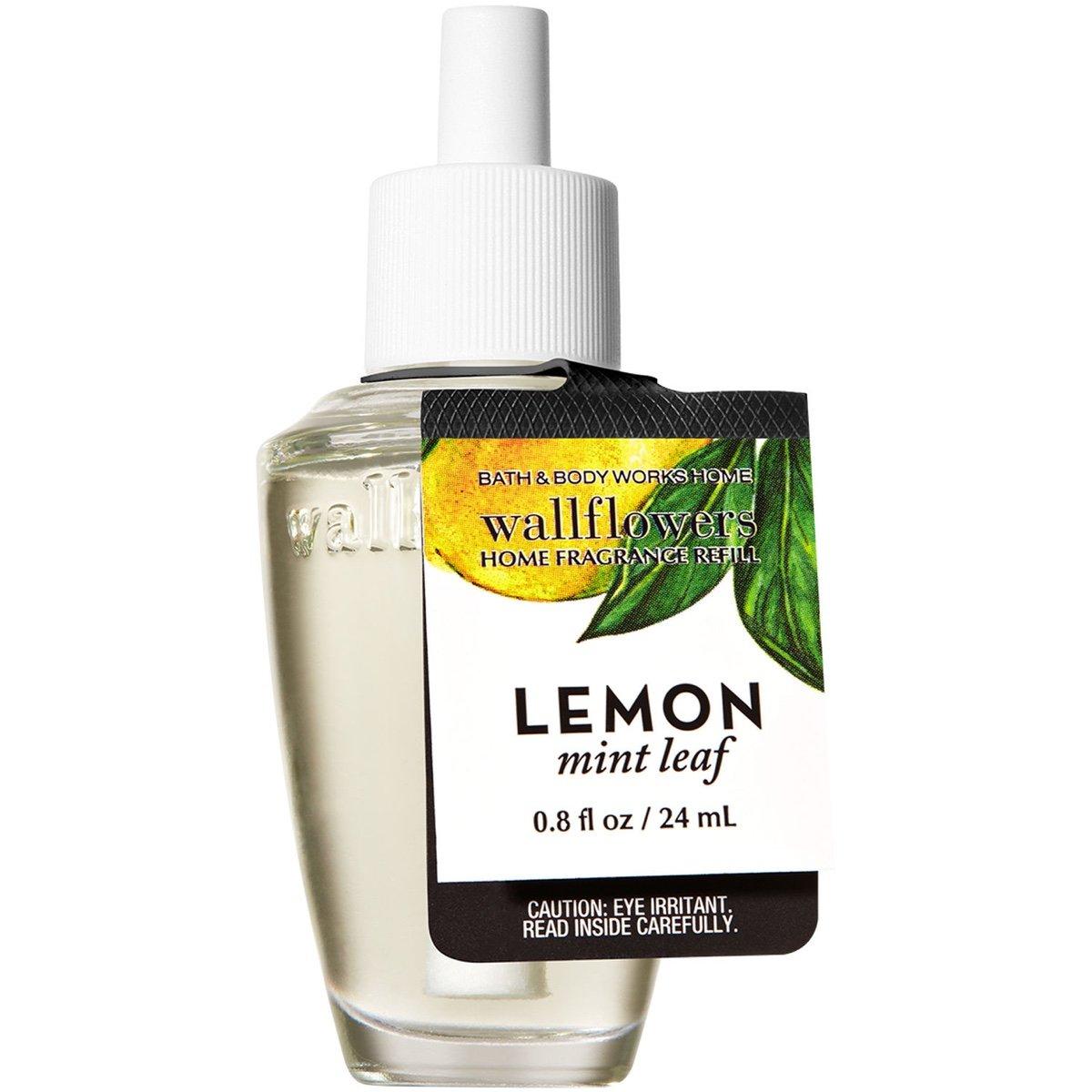 Bath and Body Works Wallflowers refill 2017 SUMMER Edition (Lemon Mint Leaf)