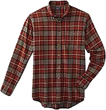 Arrow Mens Long-Sleeve Plaid Shirt