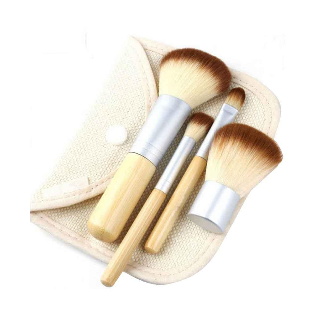 Cepillos del maquillaje de bambú