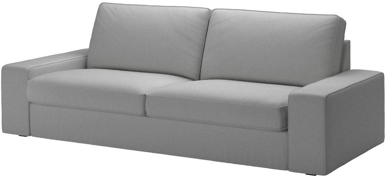 The Dense Cotton KIVIK Sofa Bed Cover Replacement Is Custom Made For Ikea Kivik Sleeper Slipcover Only. (White)