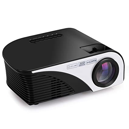 Amazon.com: GUORZOM Mini LED Projector Android Wifi Video ...