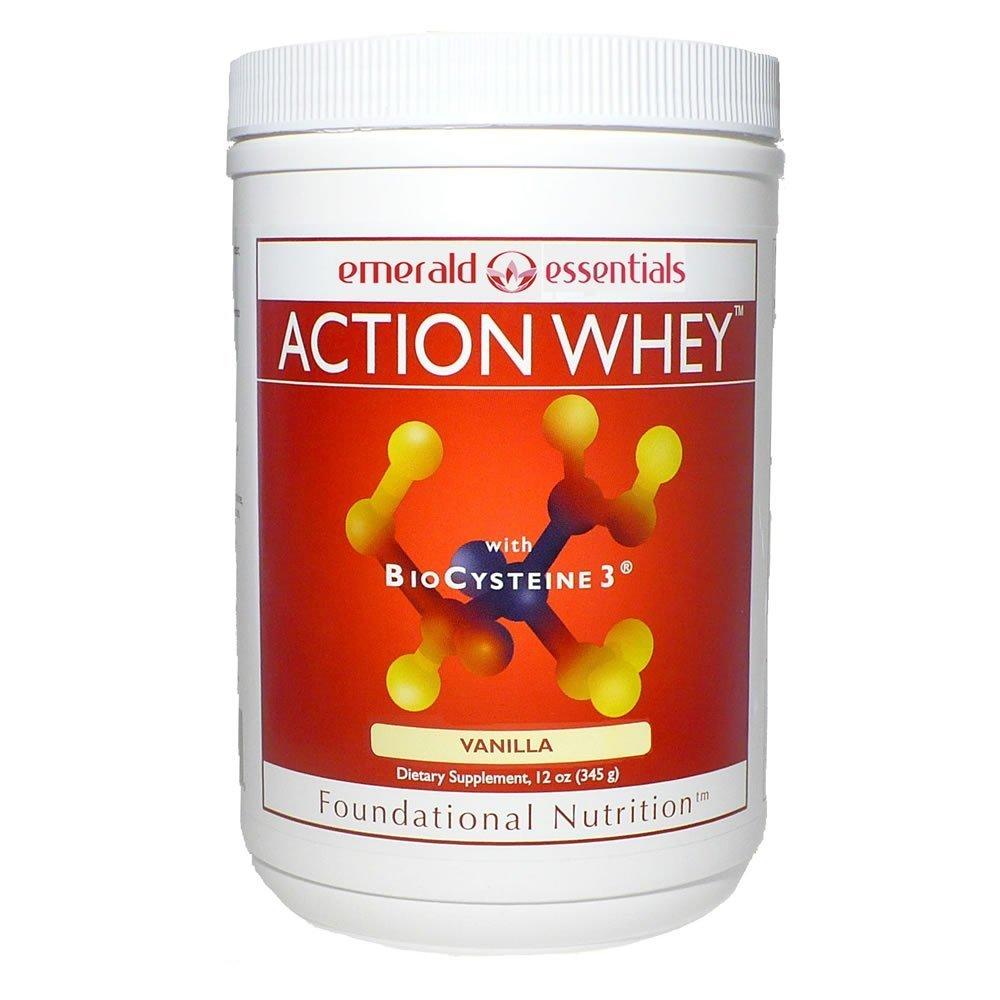 Emerald Essentials - Action Whey Protein Shake - Vanilla