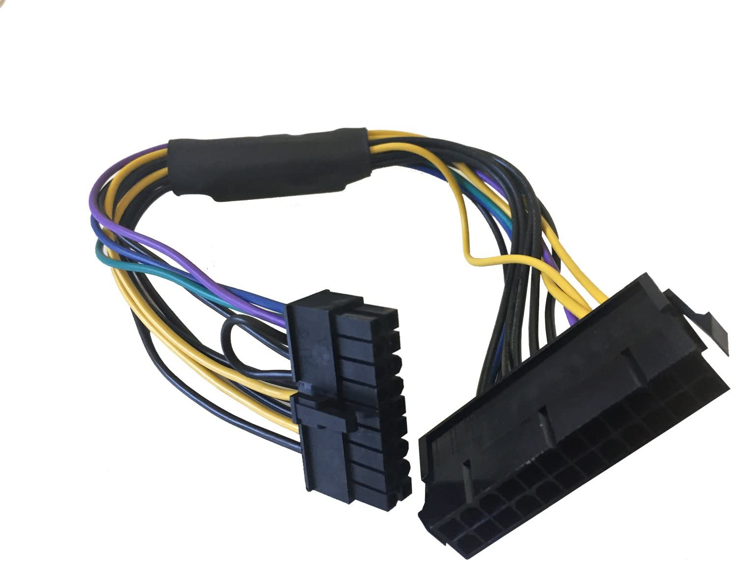 AYA 11-inch 24-Pin to 18-Pin ATX Power Supply Cable Adapter for HP Z420/Z620 Workstation
