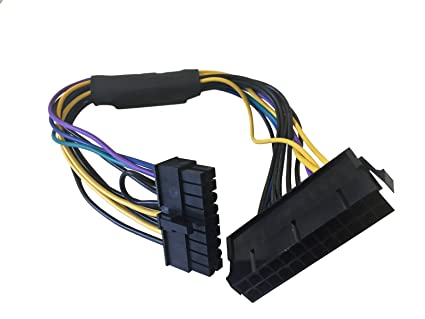 Amazon.com: AYA 11-inch 24-Pin to 18-Pin ATX Power Supply Cable ...