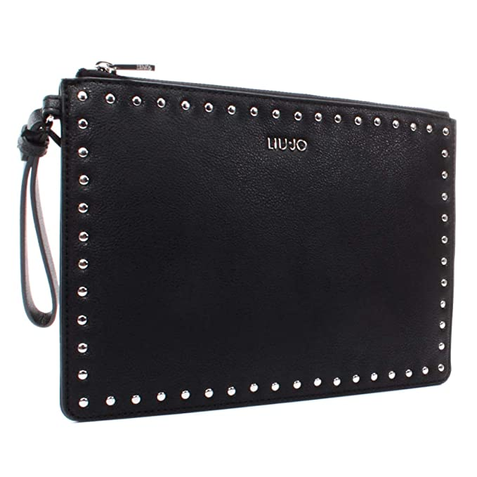 LIU JO COSMETIC CASE N69024E0031 22222 BLACK: Amazon.it