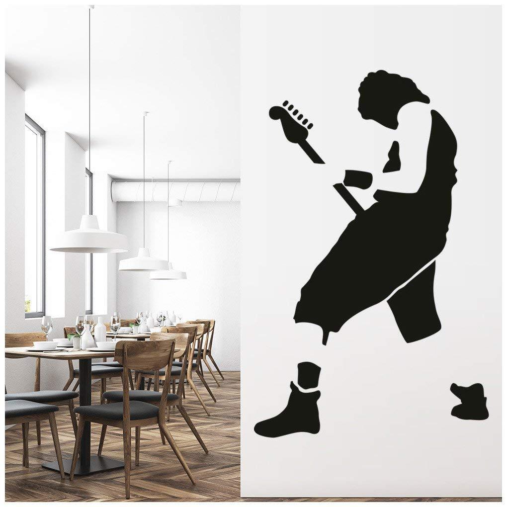 Azutura Gitarrist Wandtattoo Rockmusik Wand Sticker Kinder Kinder Kinder Schlafzimmer Haus Dekor verfügbar in 5 Größen und 25 Farben X-Groß Schwarz B00E7S6TLU Wandtattoos & Wandbilder e122c2