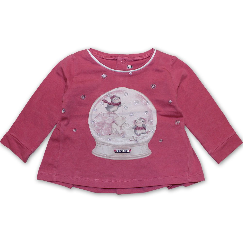 Mayoral Baby M/ädchen Shirt Schneekugel fresa 2000-32
