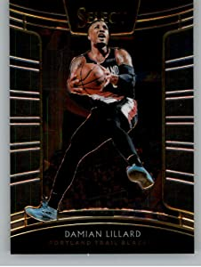 Basketball NBA 2018-19 Panini Select #43 Damian Lillard #43 Concourse NM+ Blazers