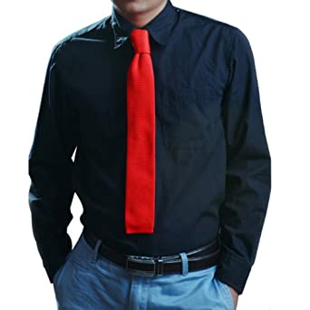 AINOW - Corbata - para hombre amarillo amarillo Talla única ...