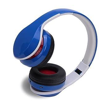 Hzhy Auriculares Bluetooth Auriculares Bluetooth 4.0 Deportes Auriculares FM Radio Fold Cable inalámbrico Inteligente MP3 (