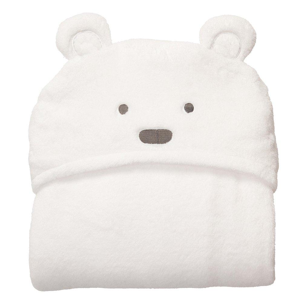 hinmay Baby Kapuzen Handtuch, weichem Coral Fleece Animal Bad Decken für Neugeborene Mädchen Jungen, Baby Wrap Handtuch Waschlappen, 0–24Monate, #1, Free Size 0–24Monate