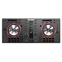 Numark Mixtrack 3 DJ Controller with 16 Multi-Function Pads, Filter Knobs, FX Controls and Virtual DJ included, Audio Interface Required, Black