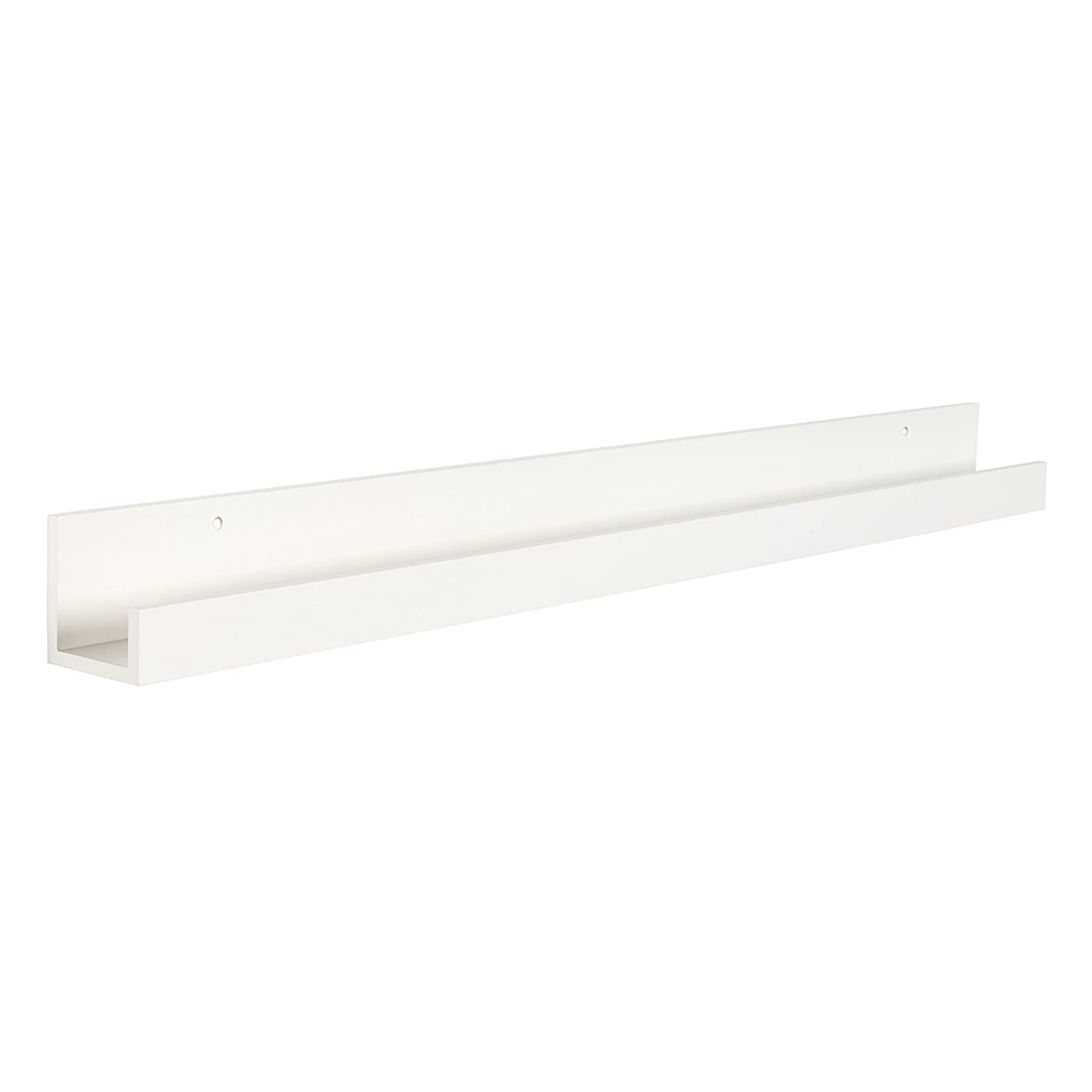 Amazoncom Kate And Laurel Levie Modern Floating Wall Shelf Picture