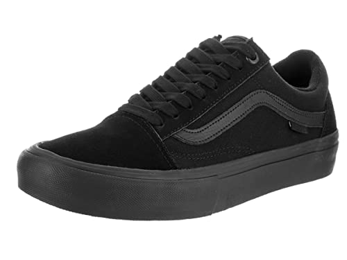 c6f88bcba8 Vans Men s Old Skool Pro Bla Blackout Skate Shoe 10.5 Men US  Amazon ...