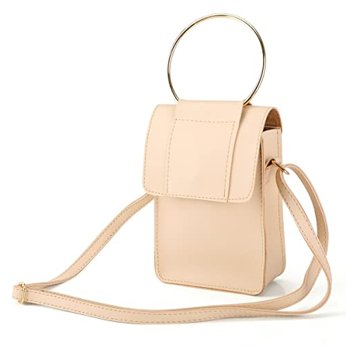 a95d8672560 Laimi Duo Crossbody Bags for Women Small Handbag Cellphone Purse Wallet  Ladies Shoulder Bag