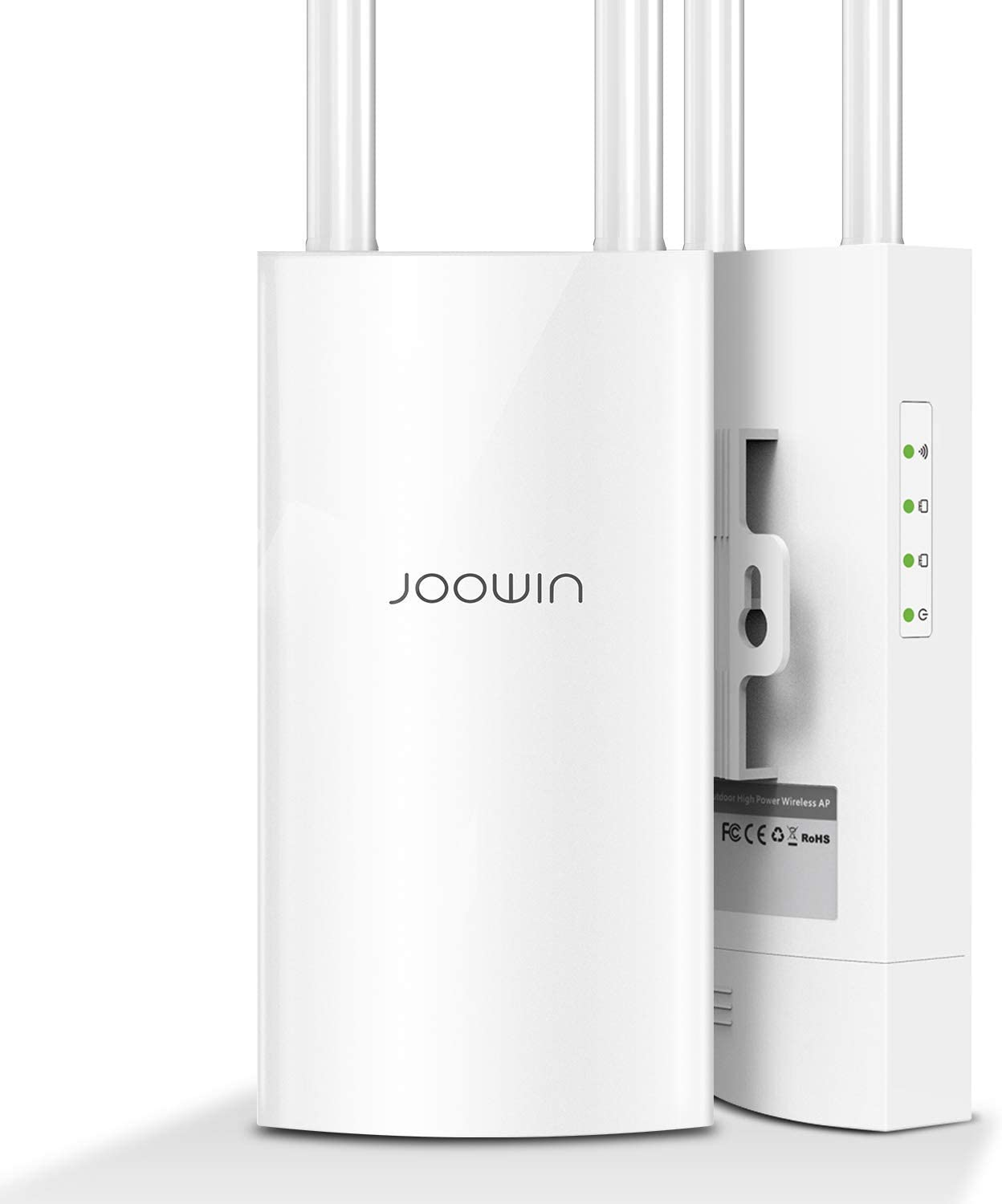 Outdoor WiFi Range Extender JOOWIN WiFi Access Point 1200Mbps AP High Power Outdoor Wireless Access Point with Ethernet Port /& PoE Dual Band 867Mbps 5Ghz 300Mbps 2.4GHz