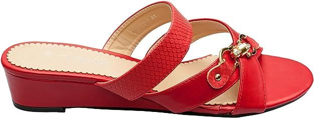 Rapidoshop Chaussure Femme Grande Taille Mules Talon