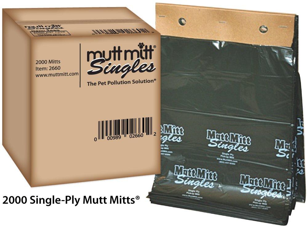Mutt Mitt Singles - 2000 per Case - Item#: 2660 by Mutt Mitt