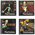 Tomb Raider Official PlayStation 1 Retro Coasters - 4 Pack