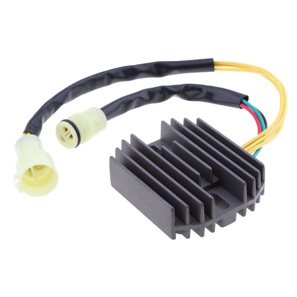 MagiDeal 12V Motorcycle Regulator Rectifier Parts for Honda TRX350 350 FOURTRAX 4x4 TRX350D 1986-1989