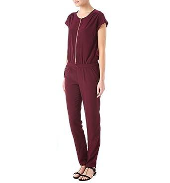 Bordeaux Promod Combinaison Et Pantalon 48Vêtements c354RLjAqS