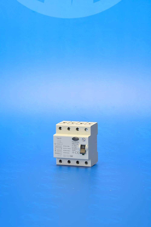 Allstromsensitiv 40A 4-Polig 0,3A 300mA FI//RCD Typ B