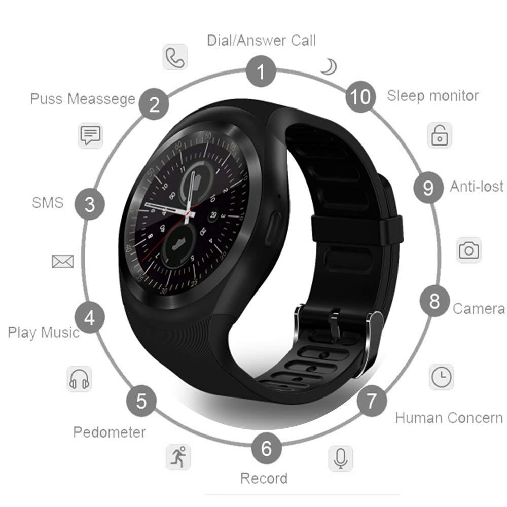JDTECK Meizu M8 Lite Watch Connected, SmartWatch SIM/TF ...