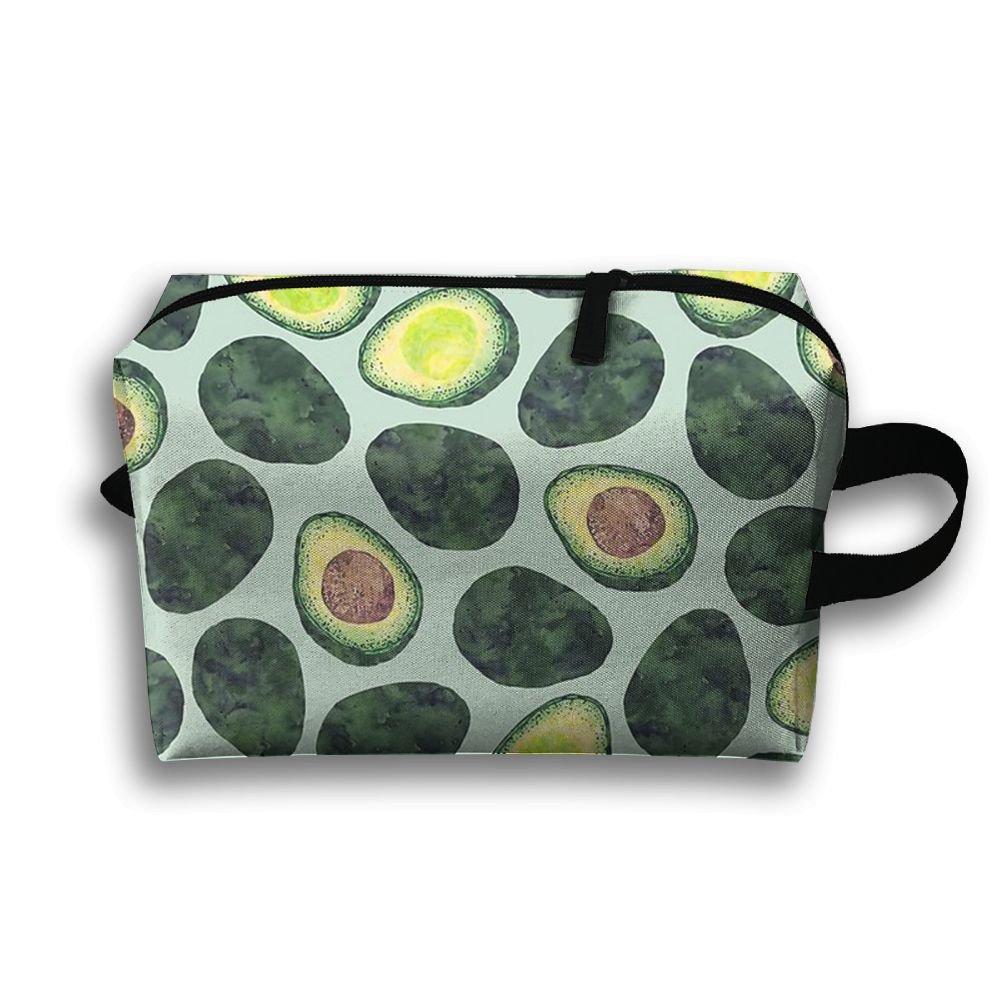 0af28c9cd5bc durable service ZeTian H Avocado Party Popular Large Storage Bag Portable  Home Makeup Bag Travel Bag