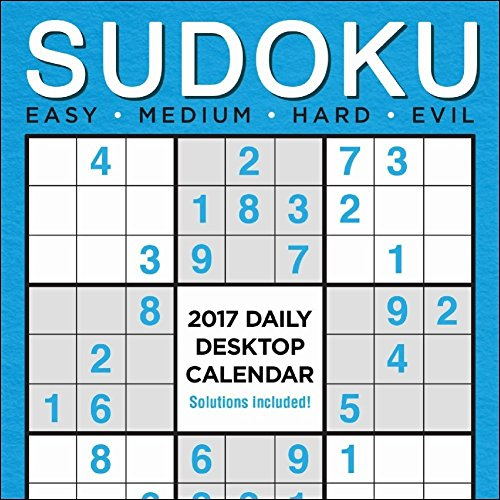 TF Publishing TFB173202 Sudoku Daily Desktop Calendar