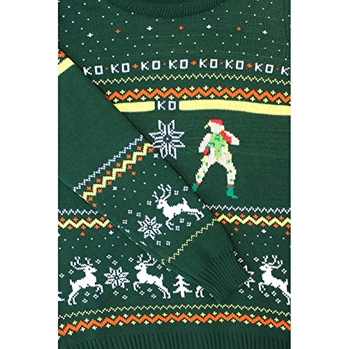 Street Fighter Official Guile vs Cammy Ugly Christmas Sweater low ...