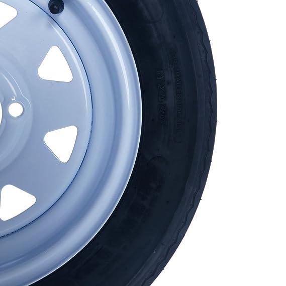 Amazon.com: 2 remolque neumáticos y llantas 5,30 – 12 530 ...