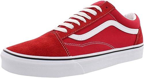 Vans Old Skool Sneakers Uomini Rosso Sneakers Basse