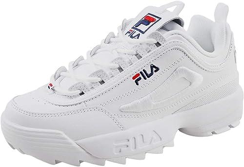chunky white fila shoes online shop