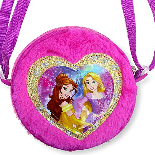 Disney Toddler Preschool Purse Handbag (Disney Princess Plush Handbag)