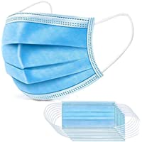 50pcs Disposable Mask 3 Layers Daily Use Anti Dust Face Masks with Elastic Ear Loop, Shipped from Australia