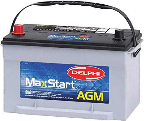 Delphi BU9065 MaxStart A.G.M. Premium Automotive Battery, Group Size 65