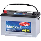 Delphi BU9065 MaxStart AGM Premium Automotive Battery, Group Size 65