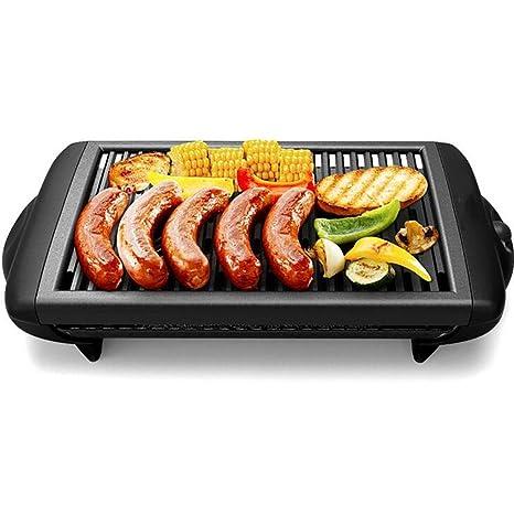 PLYY La Plancha eléctrica de teppanyaki Reversible no-Pega ...