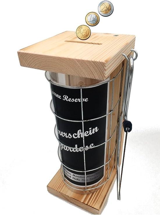 Sparschwein 5x Lustige Spardose im D-Mark-DesignSparbüchseMetallspardose