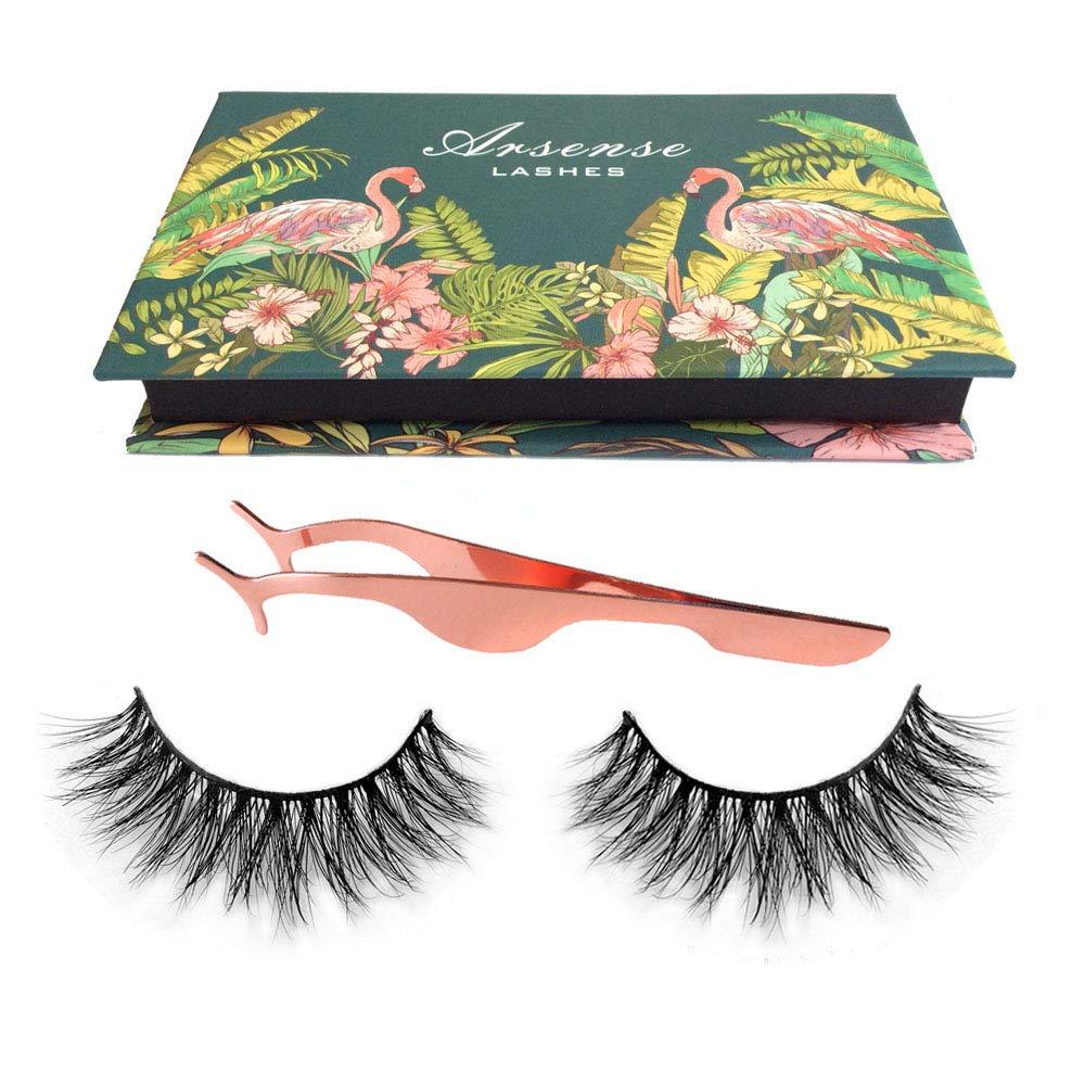 07c1f28a429 Amazon.com : 3D Mink Lashes Hand-made Dramatic Makeup Strip Lashes 100%  Siberian Fur Fake Eyelashes Thick Crisscross Deluxe False Lashes Black  Nature Fluffy ...