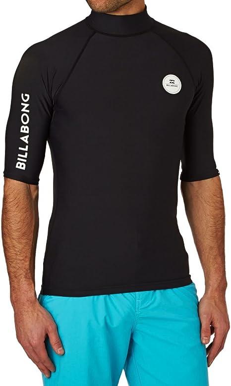 BILLABONG All Day - Camiseta de natación para Hombre, Hombre, All Day Rashguard, Negro, XL: Amazon.es: Deportes y aire libre