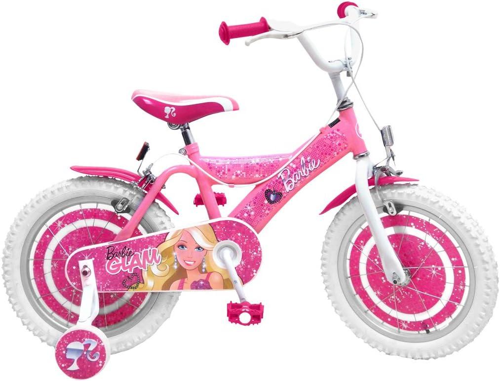 Stamp cb901359se – Bicicleta 16 Barbie: Amazon.es: Juguetes y juegos