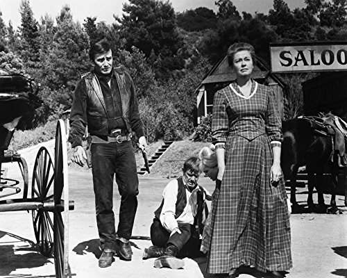 James Drury and Susan Oliver and Peter Brown and Virginia Christine in The Virginian A Small Taste of Justice episode 16x20 Canvas Giclee